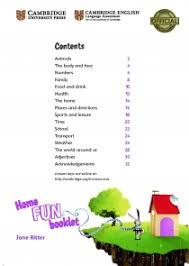 Home Fun Booklet 4 Answer Key