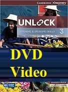 Unlock 3 Listening and Speaking Skills DVD Video