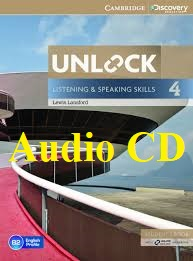 Unlock 4 Listening and Speaking Skills Class Audio CDs