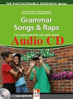 Grammar Songs and Raps - For Young Learners And Early Teens Audio CDs