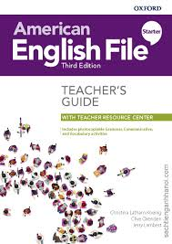 American English File Starter Teacher Book 3rd Edition