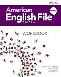 American English File Starter Workbook 3rd Edition