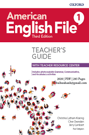 American English File 1 Teacher Book 3rd Edition