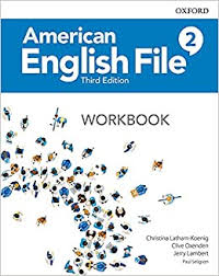 American English File 2 Workbook 3rd Edition