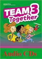 Team Together 3 Class Audio CDs