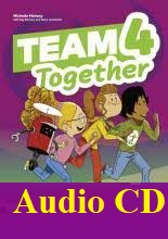 Team Together 4 Class Audio CDs