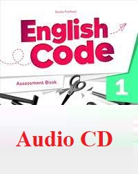 English Code 1 Assessment Book Audio CDs