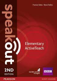 SpeakOut Elementary Active Teach 2nd Edition