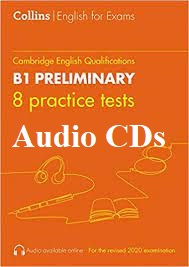 Collins English for Exams B1 Preliminary 8 Practice Tests Audio CDs