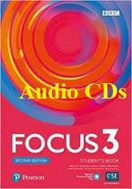 Focus 3 Second Edition Student Book Audio CDs