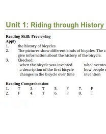 Inside Reading 1 Teacher Material Second Edition