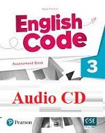 English Code 3 Assessment Book Audio CDs