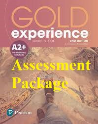 Gold Experience A2 Plus Assessment Package 2nd Edition