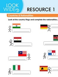 Look Wide 1 Extra Resources