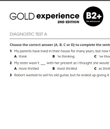 Gold Experience 2nd Edition B2 Plus Assessment Package
