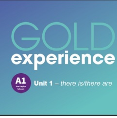 Gold Experience 2nd Edition A1 Grammar Presentations