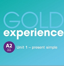 Gold Experience 2nd Edition A2 Grammar Presentations