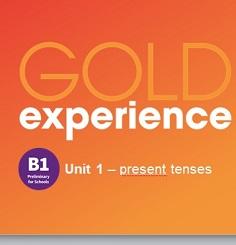 Gold Experience 2nd Edition B1 Grammar Presentations