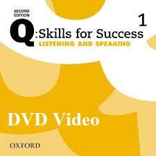Q Skills for Success 2nd Edition Listening and Speaking 1 DVD Video