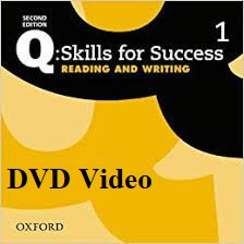 Q Skills for Success 2nd Edition Reading and Writing 1 DVD Video