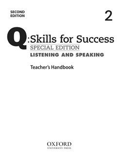 Q Skills for Success 2nd Edition Listening and Speaking 2 Teacher Handbook
