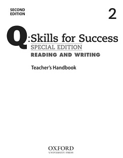 Q Skills for Success 2nd Edition Reading and Writing 2 Teacher Handbook