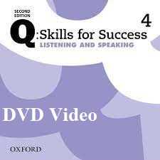 Q Skills for Success 2nd Edition Listening and Speaking 4 DVD Video