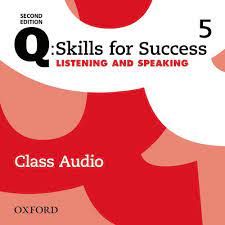 Q Skills for Success 2nd Edition Listening and Speaking 5 Class Audio CDs