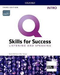 Q Skills for Success 3rd Edition Listening and Speaking Intro Student Book