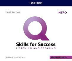 Q Skills for Success 3rd Edition Listening and Speaking Intro Class Audio CDs