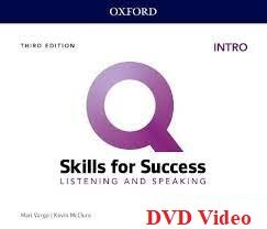 Q Skills for Success 3rd Edition Listening and Speaking Intro DVD Video