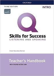 Q Skills for Success 3rd Edition Listening and Speaking Intro Teacher Handbook