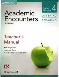 Academic Encounters 2nd Edition Listening and Speaking 4 Teacher Manual