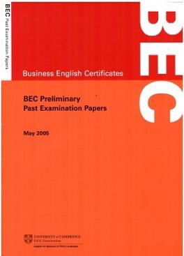 BEC Preliminary MAY 2005 (Ebook+Audio)