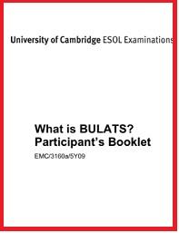 What is BULATS - Participants Booklet