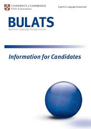 BULATS - Information for Candidates