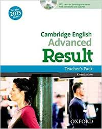 Cambridge English Advanced CAE Result  2015 Teachers Pack