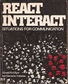 React Interact Situations for communication (1980) 1st Edition
