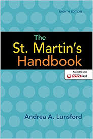 The St.Martins Handbook 8th Edition by Andrea A Lunsford