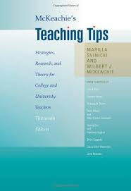 McKeachies Teaching Tips 13th Edition by Marilla Svinicki and Wilbert J McKeachie