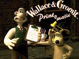 Wallace and Gromit Print O Matic