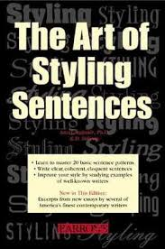 The Art of Styling Sentences 20 Patterns for Success 4th Edition