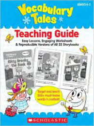 Scholastic Vocabulary Tales 25 Mini-Books and Teaching Guide Grades K-1