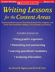 Scholastic Writing Lessons for the Content Areas