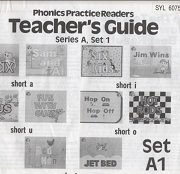 Phonics Practice Readers Series A set 1 Teacher Guide