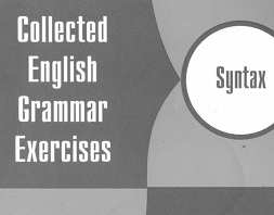 Collected English Grammar Exercises Syntax