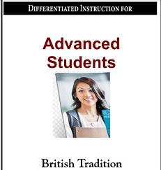 Differentiated Instruction for Advanced Students with Answer Keys