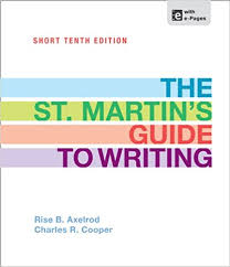 The St.Martins Guide to Writing Short 10th Edition
