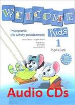 Welcome Kids 1 Audio CDs (Polish Edition)