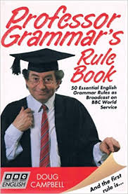 Professor Grammars Rule Book